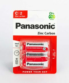 Pack of 2 x C Batteries