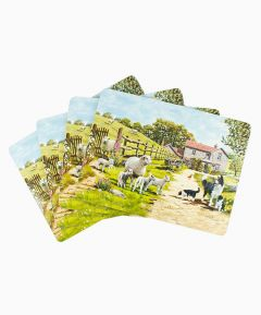 Collie and Sheep Set of 4 Placemats