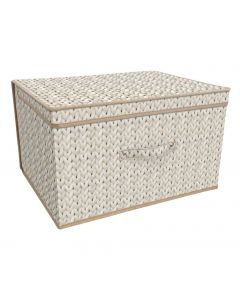 Storage Chest - Knit Natural