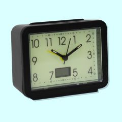 Glow in the Dark Clock/Thermometer