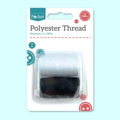 Thread Black/White - 2 PK