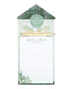 Magnetic Memo Pad - Potting Shed