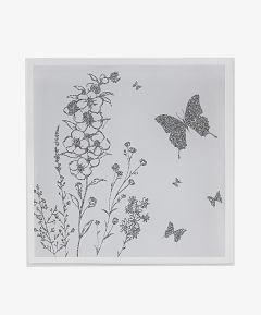 Mirror Coasters - Butterfly