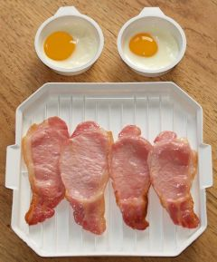 M'Wave Bacon & Egg Set