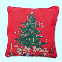 Cushion Cover Tapestry - Tree