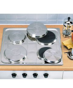 Hob Covers Stainless Steel - Set Of 4