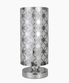 Silver Cylinder Touch Light