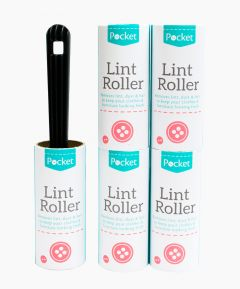 Lint Roller with 5 Rolls