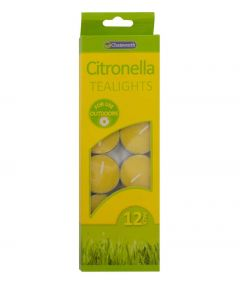 Citronella Tealights (12 pack)