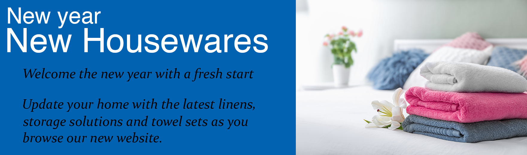 First Signs of Spring- Shop our home accessory range, update and upgrade the smaller details of your home- feel fresh for spring.