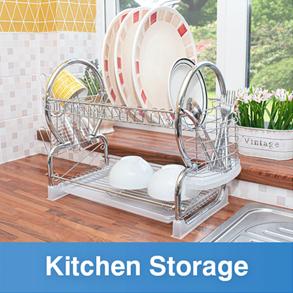 Browse our range of kitchen storage